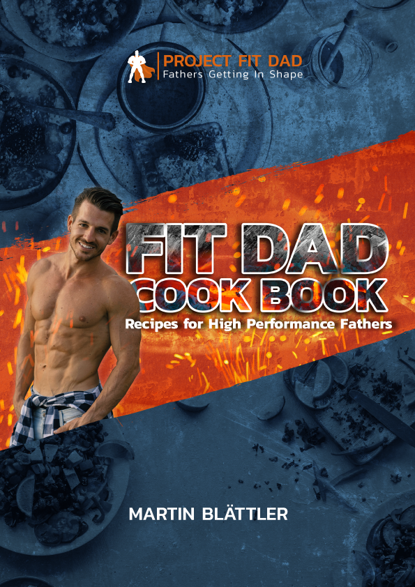 Fit Dad Cook Book Cover