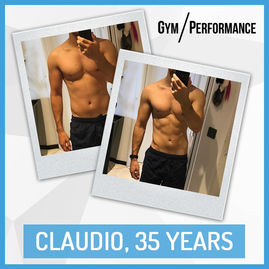 Transformation of Fit Dad Caludio