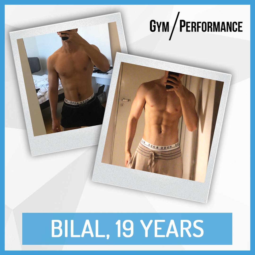 Transformation of Fit Dad Bilal