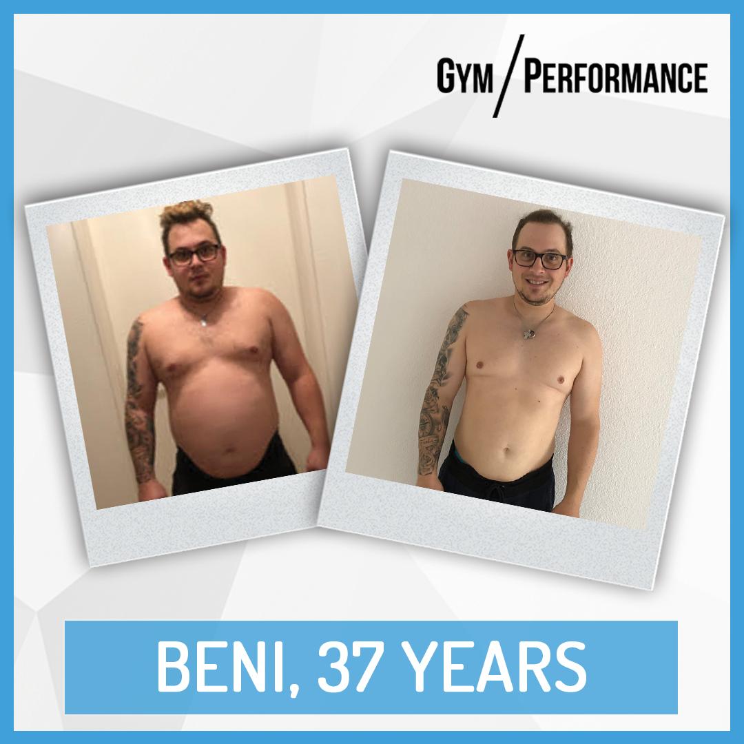 Transformation of Fit Dad Beni