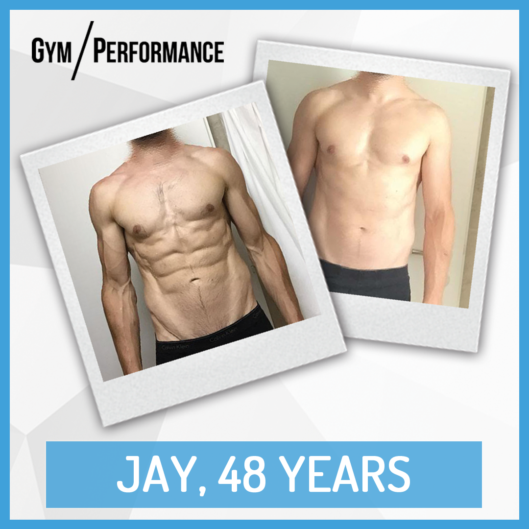 Transformation of Fit Dad Jay