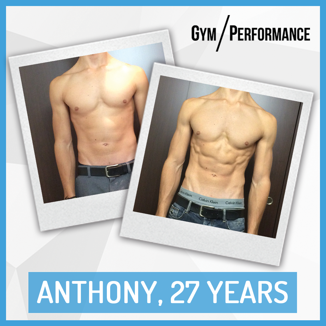 Transformation of Fit Dad Anthony