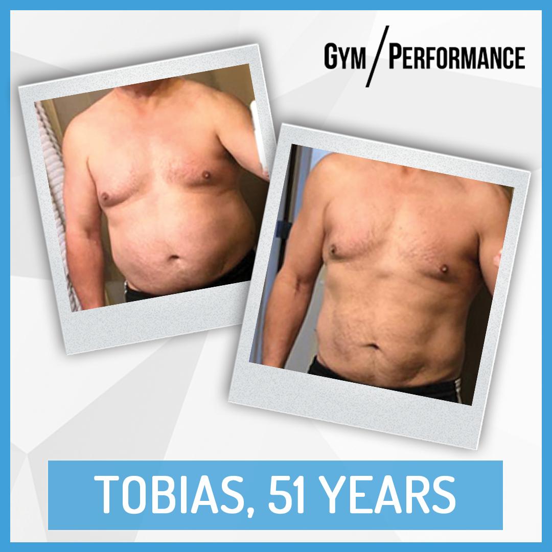 Transformation of Fit Dad Tobias