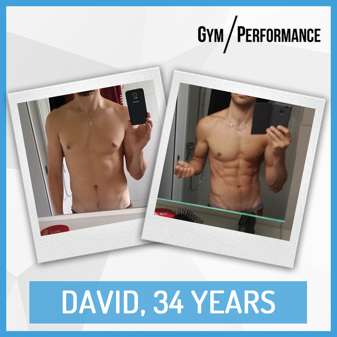 Transformation of Fit Dad David